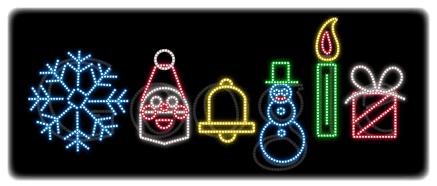 Google vous souhaite un joyeux Noël
