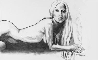 Un dessin de Lady Gaga signé Tony Bennett aux enchères sur eBay