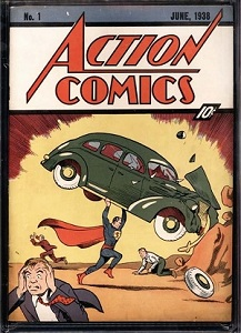 Superman action comics n°1
