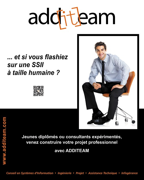 La communication visuelle de la SSII Additeam