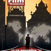 affiche du festival international du film d'Amiens
