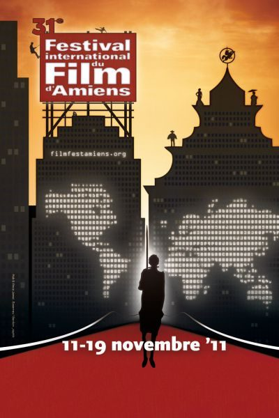 affiche du festival international du film d'Amiens