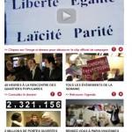 Banc d'essai : les newsletters des favoris à la Présidentielles 2012*
