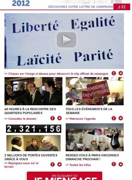 newsletter François Hollande
