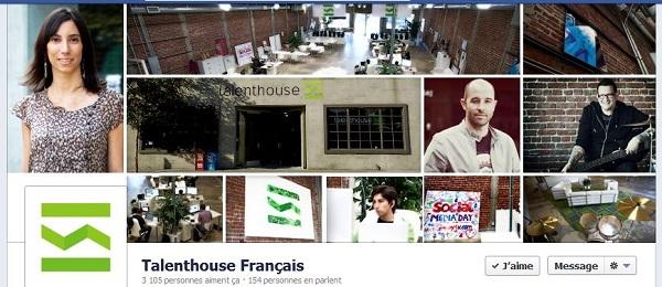 timeline Facebook Talenthouse
