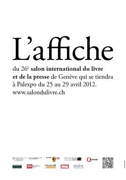 La communication visuelle originale du Salon international du livre et de la presse de Genève