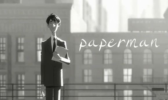 [animation]- Paperman, court-métrage de Disney