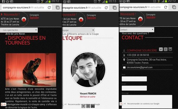 design site Compagnie Souricière