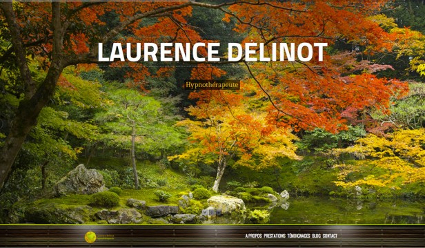 design site Laurence Delinot