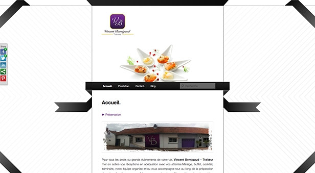 web design site traiteur