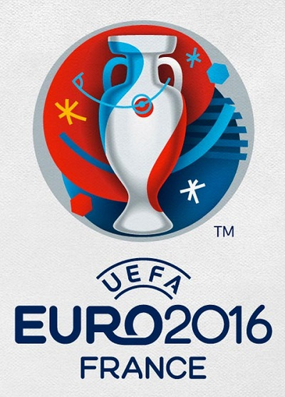 Football le logo de l euro 2016 de foot impression - Logo championnat foot ...