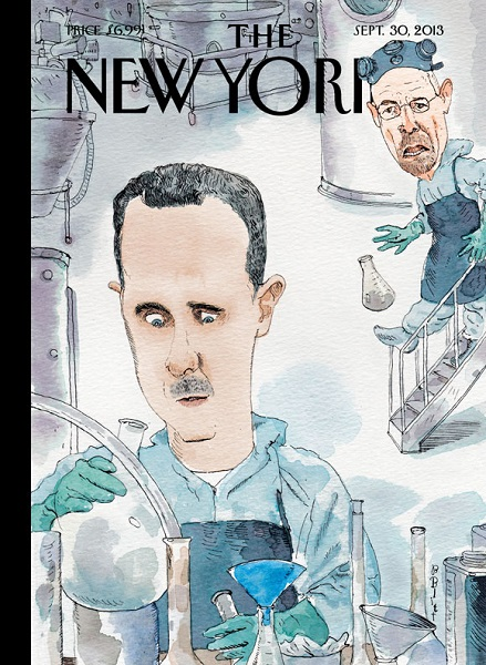 couverture The New Yorker du 30 septembre 2013