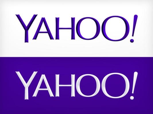 Yahoo! a donc dévoilé son nouveau logo