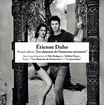 pochette avec bandeau Les chansons de l'innocence retrouvée Etienne Daho
