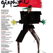 Affiche de la Fête du Graphisme par Jean-Paul Goude