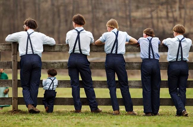 garçons amish - AP 2013