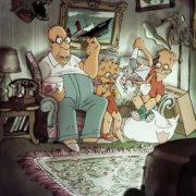 The Simpsons par Sylvain Chomet