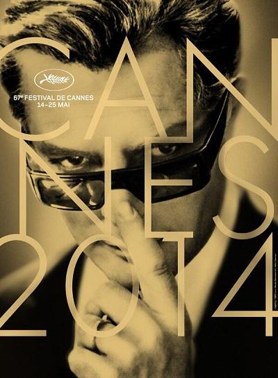 Affiche Festival de Cannes 2014 - Marcello Mastroianni