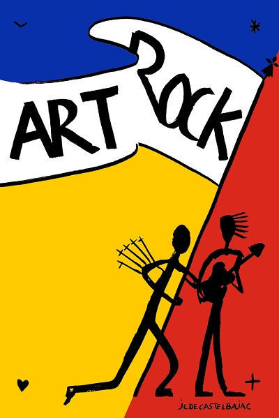 Jean-Charles de Castelbaljac dessine l'affiche du prochain Art Rock