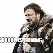 school is comming game of thrones