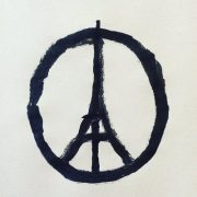 Peace for paris par Jean Jullien