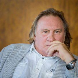 Portrait Gérard Depardieu - Movie Rien a Declarer - portrait-photographe-montreal