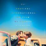 71e Festival de Canne affiche le baiser de Pierrot le fou