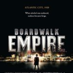 L'affiche de Boardwalk Empire, la nouvelle série HBO