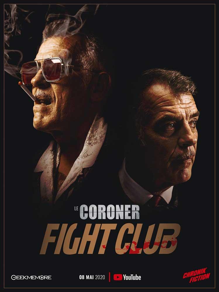 Affiche Le Coroner - Fight Club