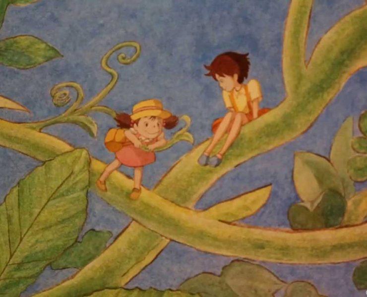 Studio Ghibli fresque