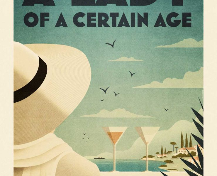 Mathieu Persan - Affiche A Lady Of A Certain Age