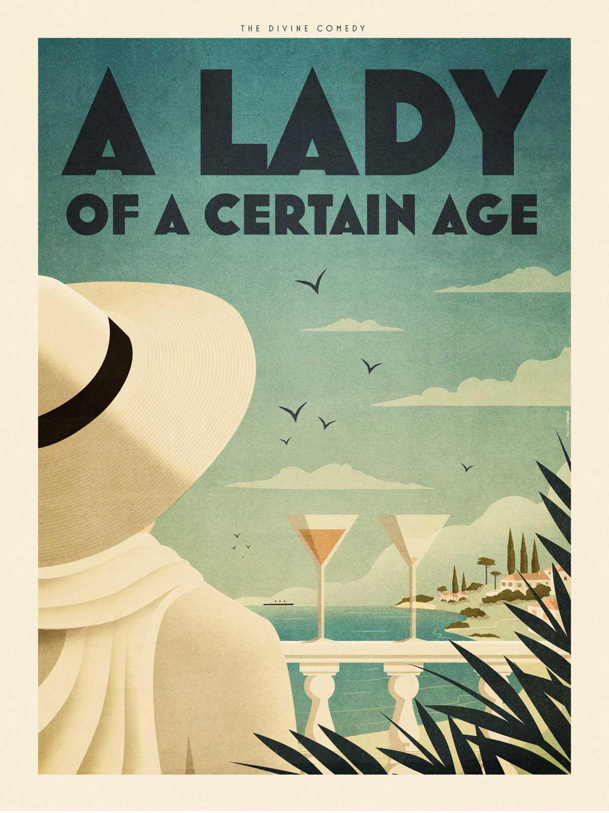 Mathieu Persan - Affiche A Lady Of A Certain Age